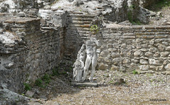 Great Baths, Dion (10).JPG (tobeytravels) Tags: alexanderthegreat alexander3rd macedon macedonia thucydides brasidas orpheus hellenistic cranicos leake thermalbaths hypocaust 2ndcenturybc mosaic asclepios thermae