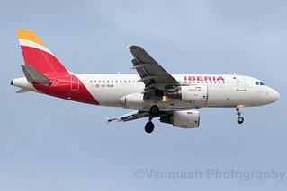 EC-KUB Iberia A319 Madrid Barajas