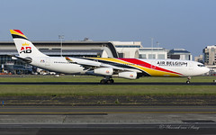 KF_ABB_OOABB_A343_BRU_MAY18 (Yannick VP) Tags: civil commercial passenger pax transport aircraft airplane aeroplane jet jetliner airliner kf abb airbelgium airbus a340 340300 ooabb brussels airport bru ebbr belgium be bel europe eu rwy 25r runway landing may 2018 aviation photography planespotting airplanespotting