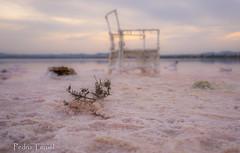 La silla de las Salinas (pedrojateruel) Tags: salinas de la mata silla sal atardecer