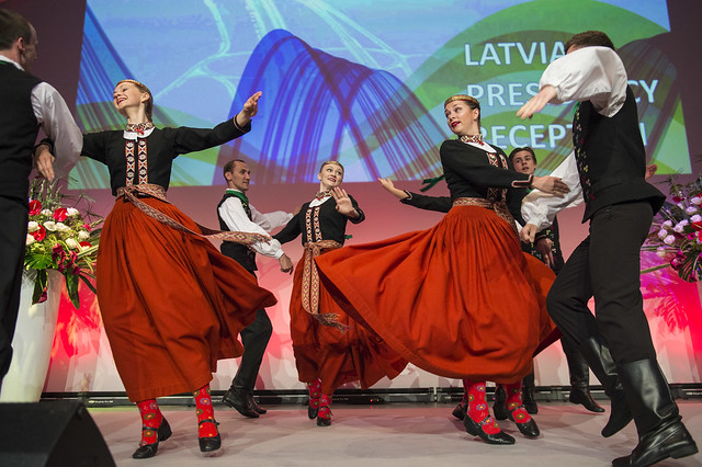 The Latvian Presidency Reception