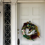Holiday in New Orleans. Mardi Gras decoration. thumbnail