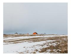 hébertville (Mériol Lehmann) Tags: landscape winter topographies farmstead farm canada rural quebec lacsaintjean snow hébertville québec ca
