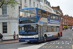 536 - Not In Service (Gellico) Tags: reading buses alx400 dennis trident route 7 stagecoach