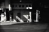 (David Davidoff) Tags: people street shadow life blacknwhite nikons2 rangefinder nikkorsc5cmf14 kodaktmax100 analogue monochrome urban cityrhythm