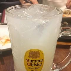 カルピス レモンサワー(カルピス ゼロ) #筋肉食堂 (S14U) Tags: instagram ifttt