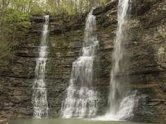 RED03085 (David J. Thomas) Tags: caves caving hiking speleology class students twinfalls camporr jasper waterfall creek stream karst arkansas lyoncollege