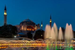Hagia Sophia in a Midsummer Evening