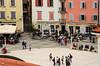 Pirano (Piran - Slovenja) (giannizigante) Tags: pirano slovenia selciati palazzi case stileveneziano gente piazzatartini