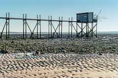 La Cabane Bleue (Fabrice Denis Photography) Tags: seascapephotography kodakultramax400 ocean argentique seascapes carrelet coastalphotography oceanphotography cabanedepêcheurs seascapephotographer coastal nikonf100 sea yves nouvelleaquitaine france fr