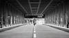 Walk the line (frank_w_aus_l) Tags: hamburg bridge street line symmetry architecture nikkor 10514 nikon d810 monochrome sw bw noiretblanc netb germany city lines forms aperture anna walk deutschland de