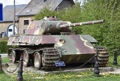 Grandmenil Ardennes Belgium 27th April 2018 (loose_grip_99) Tags: belgium ardennes battle bulge 1944 panther tank german wehrmacht vehicle wwii april 2018