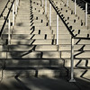 it's been a week of crazy uphill battles (MyArtistSoul) Tags: steps stairs concrete railing shadows interrupted patterns parallel lines angles outdoor abstract urban square 1866 iphone7