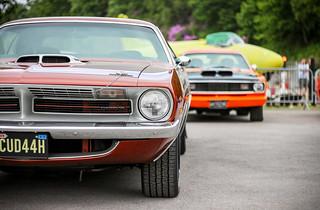 1970 Plymouth Barracuda.