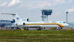 UN 85855 / Tupolev TU-154.M / Atyrau Airways (PBe1958) Tags: transportation lietadlo aircraft airplane aero aeroplane airliner jetliner tupolev t154 tu154m bts lzib bratislava mrstefanik aaw atyrauairways