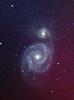 M51 (Whirlpool Galaxy) B V SII from UC Davis Hutchison Telescope (Sam Schmidt) Tags: m51 whirlpoolgalaxy whirlpool telescope ucdavis davis california galaxy interacting night dark astrophotography