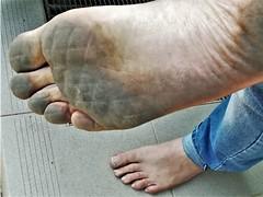 dirty city feet 545 (dirtyfeet6811) Tags: feet sole barefoot dirtyfeet dirtysole cityfeet