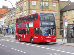 SLN 10135 - LX12DFL - A2 NEW CROSS ROAD - FRI 11TH MAY 2018 (Bexleybus) Tags: stagecoach london a2 new cross road adl dennis enviro 400 tfl route 136 10135 lx12dfl