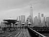 The Towers of Battery Park City. (CVerwaal) Tags: batteryparkcity hudsonriver skyline waterfront jerseycity nj usa olympusem5 lumixgvario1235mmf28