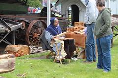 Newfane 066 (82) (swi66) Tags: dunkirk hit miss motors diesel cannons farm tractor john deere antique historical