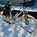 my bike with winter tyres thumbnail