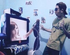 Virtual Reality (Jimcen Bagsik) Tags: art photography philippines dumaguetecity dumagetme photoshop adobephotoshop photomanipulation digitalart jimcenbagsik jimcen vr virtualreality 3dglasses tv glasses beautiful pretty sexy hot bra surprise avidol jav bedroom reality jessicakizaki fun
