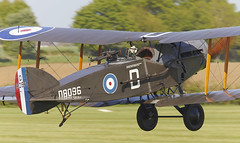 Bristol  Fighter (Bernie Condon) Tags: uk british shuttleworth collection oldwarden airfield airshow display aviation aircraft plane flying 100yearsoftheroyalairforceairshow bristol f2 fighter military warplane vintage preserved classic ww1 reconnaissance biplane rfc royalairforce raf bomber multi role royalflyingcorps brisfit biff