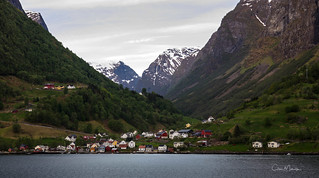 Undredal a village on the Sognefjorden, Norway