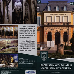 Ruse - Ecomuseum with Aquarium / Ökomuseum mit Aquarium; 2015, North-East Bulgaria (World Travel Library - collectorism) Tags: ruse русе 2015 museums museen historical architecture buildings history northeast bulgaria българия bǎlgarija travelbrochurefrontcover frontcover brochure world library center worldtravellib papers prospekt catalogue katalog photos photo photograph picture image collectible collectors ads country land holidays trip vacation photography collection sammlung recueil collezione assortimento colección online gallery galeria touristik touristische broschyr esite catálogo folheto folleto брошюра broşür documents dokument