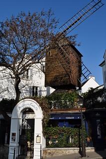 Le Radet, 1717, moulin de la Galette, rue Lepic, Paris XVIIIe, France.