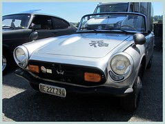 Honda S 800, 1968 (v8dub) Tags: honda s 800 1968 schweiz suisse switzerland bleienbach japanese roadster pkw voiture car wagen worldcars auto automobile automotive old oldtimer oldcar klassik classic collector