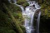 Along the Way (writing with light 2422 (Not Pro)) Tags: covellcreek washingtonstate waterfall vignette richborder sonya7