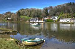 Lerryn, Cornwall (Baz Richardson (now away until 20 July)) Tags: cornwall lerryn riverlerryn villages rivers aonb