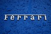 Badge on blue 430 (Puckpics) Tags: ferraribadge blue badge ferrari detail logo