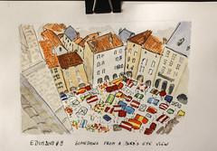 Edim2018#9 Something from a bird's eye view (chando*) Tags: aquarelle croquis edim2018 encre ink sketch watercolor
