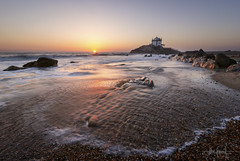 Sr. da Pedra (RuiFAFerreira) Tags: beauty beach canon color chapel efs1018mmf4556isstm exterior exposure longexposure blended golden light landscape wide waterscape seascapes nature portugal sunset uwa