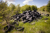 Fly Tipping In Inkerman (26) (dddoc1965) Tags: dddoc davidcameronpaisleyphotographer inkerman fields flytipping tyres asbestos rubble housewaste fergusliepark renfrewshirecouncil crime cowboybuilders waste enviroment gas canisters accidentwaitingtohappen