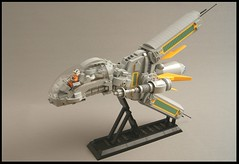 Y-18R Ragnarok Starfighter (SweStar) Tags: lego starwars the last starfighter brixtar challenge moc space swestar