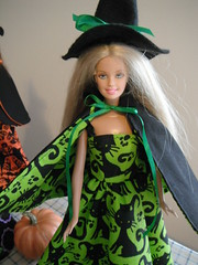DSCF1934 (Jeannie Colleen) Tags: handmade dollclothes witchdollcostume barbiedollcostume barbiedollwitchcostume barbie doll clothes handmadedollclothes handmadebarbiedollclothes etsy mysticalraindrops