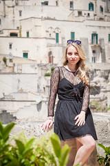 Michela (Rocco Zafferano PH) Tags: matera basilicata italy girl beauty portait sun day digital analog analogic color
