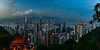 Twilight sparkle, Hong Kong (kcma17) Tags: hongkong hong kong city skyline blue hour dusk dawn sunset sunrise sonnenuntergang sonnenaufgang zeiss lights sky himmel heaven skyscraper water park twilight sparkle fabulous