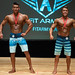 Men's Physique Junior – 2nd Gabriel-alexis Pelletier 1st Rowan Stenson
