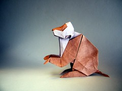 Monkey - Zhao Yanjie (Rui.Roda) Tags: origami papiroflexia papierfalten mono macaco singe monkey zhao yanjie