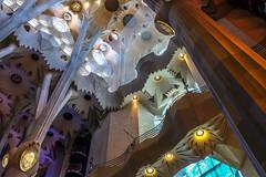 Sagrada Familia (gigiush (Emmanuel)) Tags: p barcelona spain sagradafamilia transatlanticcruise reflection apr2018 antonigaudí cathedral