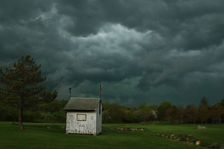 Storm rolling through