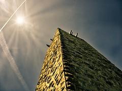 Tower (micha-m) Tags: tower sun turm sulzfeld sky germany badenwürttemberg deutschland burg castle