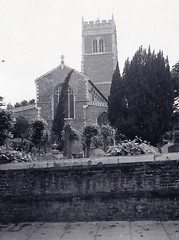 St Mary's Woodbridge Suffolk 1961 (Bury Gardener) Tags: blackandwhite bw old oldies snaps scans people 1960s 1961 england uk britain