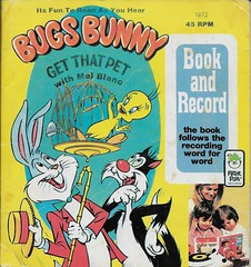 Bugs Bunny Book And Record ( Peter Pan 1973 ) (Donald Deveau) Tags: melblanc bugsbunny sylvester tweety warnerbros book bookandrecord record vinyl cartoon