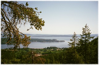 Heart Lake Lookout - 1 (of 2) - Contax T2 with Carl Zeiss Sonnar 1:2.8 38 mm T* & Fuji ISO 400 Film