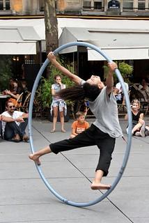 Hoop Acrobatics # 9